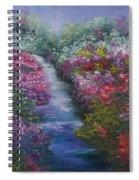 Splash Of Spring Spiral Notebook
