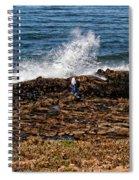 Splash Zone Spiral Notebook