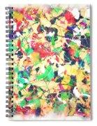 Splashing Paints Spiral Notebook