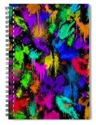 Splattered One Spiral Notebook