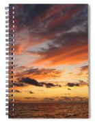 Splendor In The Skies Spiral Notebook