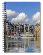 Splendor Of Honfleur Spiral Notebook