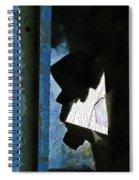 Splintered  Spiral Notebook