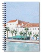 Split Croatia Adriatic Coast Spiral Notebook