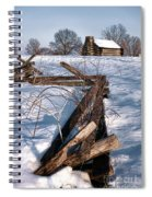 Split Rail And Nation Spiral Notebook
