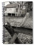 Split Rail Fence Spiral Notebook