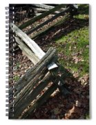 Split Rail Fence Spiral Notebook