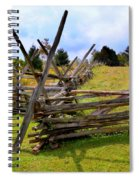 Split Rail Spiral Notebook