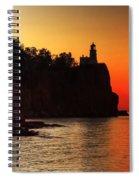 Split Rock Lighthouse - Sunrise Spiral Notebook