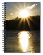 Splitrock Sunrise Spiral Notebook