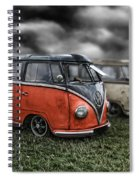 Splitty Rotters 2 Spiral Notebook
