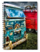Splitty Rotters Spiral Notebook