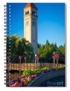 Spokane Clocktower Spiral Notebook