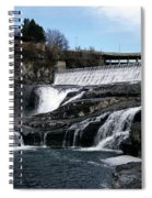 Spokane Falls At Low Tide Spiral Notebook