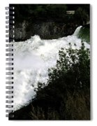 Spokane Falls In The Spring Spiral Notebook