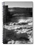 Spokane Falls Spring Flow Spiral Notebook