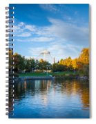 Spokane Reflections Spiral Notebook