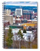Spokane Washington Spiral Notebook