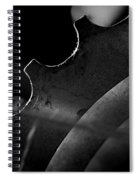 Spokes And Sprocket Spiral Notebook