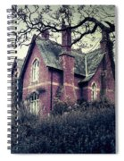 Spooky House Spiral Notebook