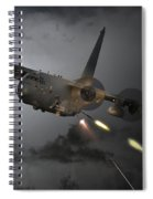 'spooky' Spiral Notebook