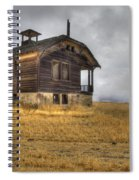 Spooky Old School House Spiral Notebook