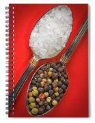 Spoonfuls Of Salt And Pepper Spiral Notebook