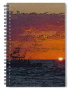Sport Fisher Spiral Notebook