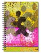 Sports B 2 Spiral Notebook