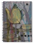 Spot Of Tea Spiral Notebook