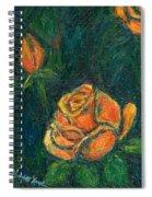 Spotlight Rose Spiral Notebook