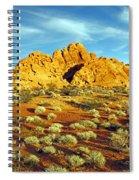 Spots Of Grass Spiral Notebook