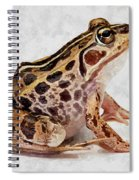 Spotted Dart Frog Spiral Notebook