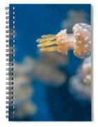 Spotted Jelly Aliens 1 Spiral Notebook