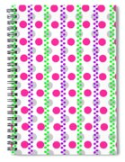 Spotty Stripe Spiral Notebook