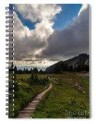 Spray Park Wandering Spiral Notebook