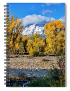 Spread Creek Grand Teton National Park Spiral Notebook