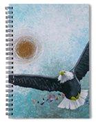 Spread Eagle Spiral Notebook