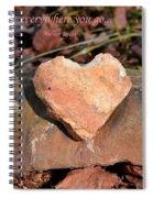 Spread Love Spiral Notebook
