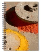 Spreading Colors In Life Spiral Notebook