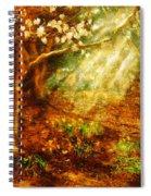 Spring - A Sign Of Spring Spiral Notebook