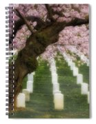 Spring Arives At Arlington National Cemetery Spiral Notebook