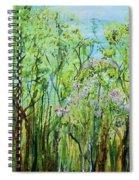 Spring Arpeggio Spiral Notebook