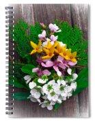 Spring Arrangement Spiral Notebook