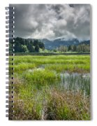 Spring At Dry Lagoon 1 Spiral Notebook