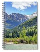 Spring At Silver Jack Spiral Notebook