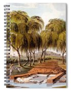 Spring At The Source Of The Skamander Spiral Notebook