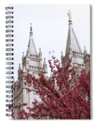 Spring At The Temple Spiral Notebook