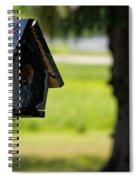 Spring Birdhouse Spiral Notebook