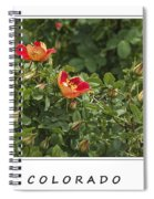 Spring Blooms In Colorado Spiral Notebook